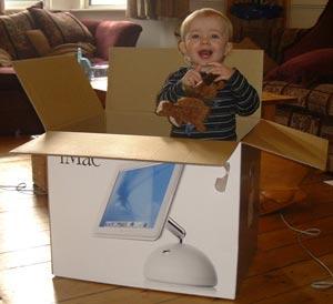 Jonathan helps unpack the iMac